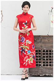 Wedding cheongsam