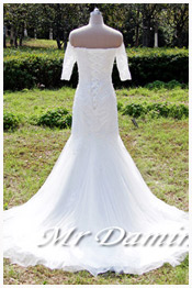 elegent wedding dress