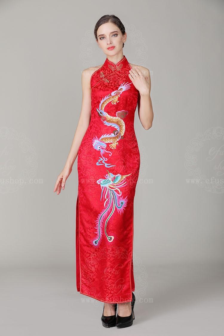 Chinese red wedding Dresses - Custom-made Cheongsam,Chinese clothes ...