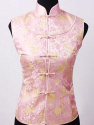 Pink with golden dragon waist CCW19