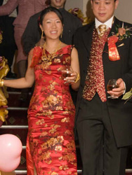 Beryl Chung YIP' chinese wedding dress