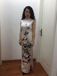 Miss Zhang's dress