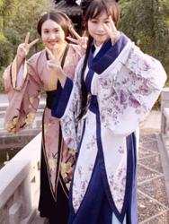 ZhuJian and her friend