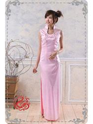 Pink cheongsam dress SMS37