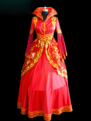 mongolian wedding dress