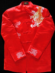 Chinese men's traditional jacket