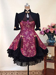 Purple China style lolita dress