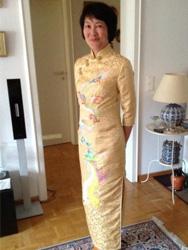 Jacqueline Bong-Priess's cheongsam