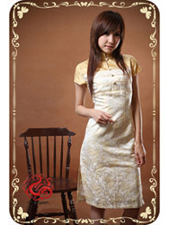 Modern cheongsam dress SMS23