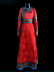 mongolian nobility dress