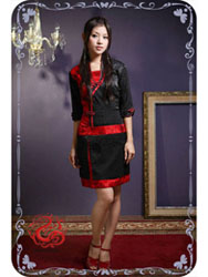 Black/red dress SMS31
