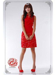 Red dress SMS20