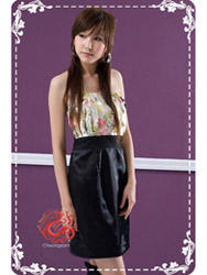 Modern cheongsam dress SMS08