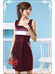 Purple dress SMS74
