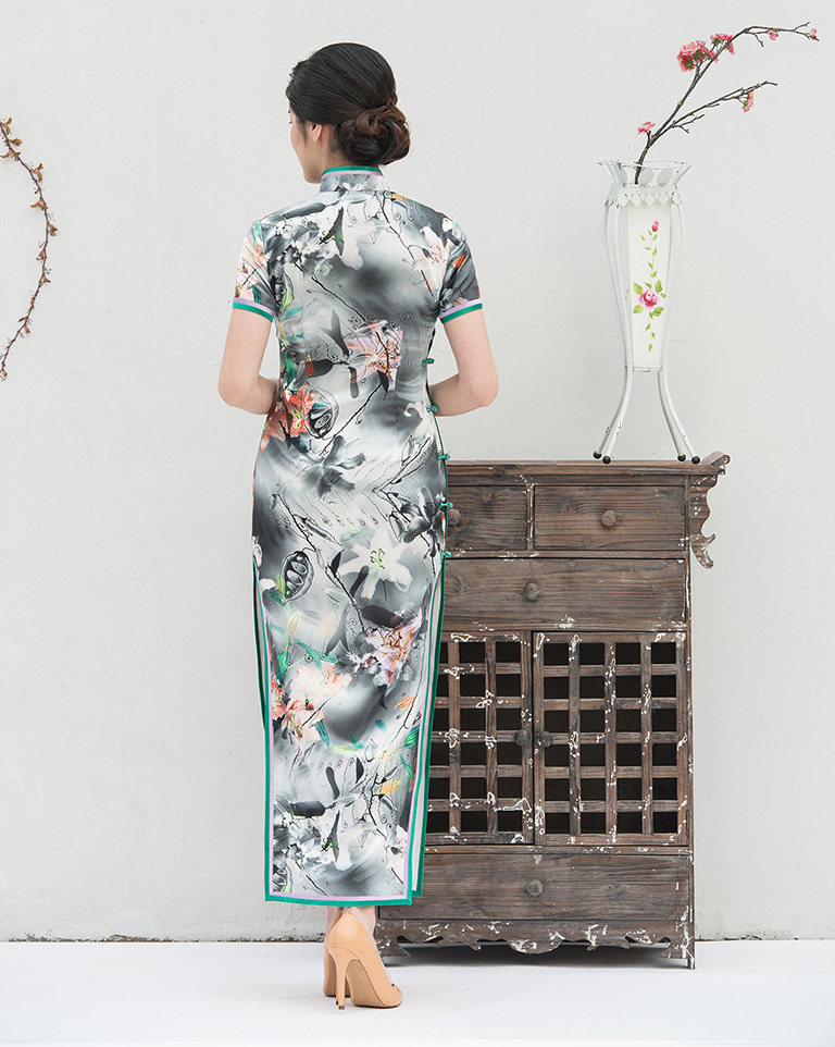 Lily cheongsam for Mom