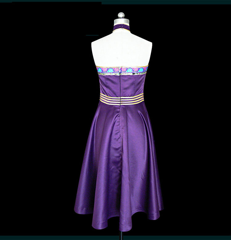 Purple Mongolia dress