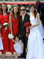 Annis Koh's wedding dress
