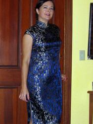 Maureen Goff 's qipao