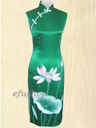 Handpainted cheongsam SQH28