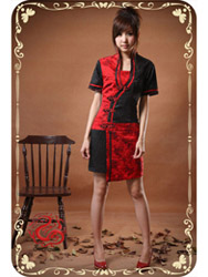 Modern cheongsam dress SMS32