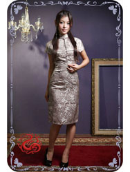 Dragon cheongsam dress SMS91
