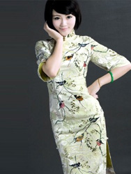 Velour Cheongsam SCV14
