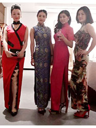 Miss Xue er' qipao dress party