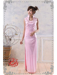 Pink cheongsam dress SMS37