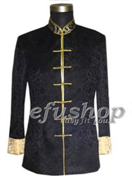Black chinese men's Jacket