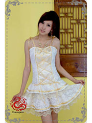 Modern cheongsam dress SMS51