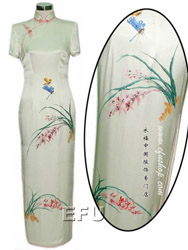 Handpainted cheongsam SQH16