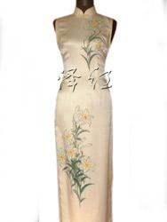Handpainted cheongsam SQH04