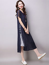zen & tea midi dress2796