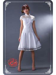 White dress SMS43