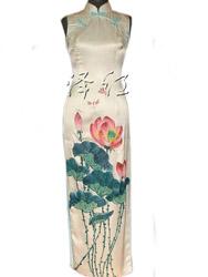 Handpainted cheongsam SQH06