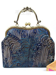 Chinese brocade handbag 2