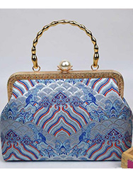 Chinese brocade handbag 3
